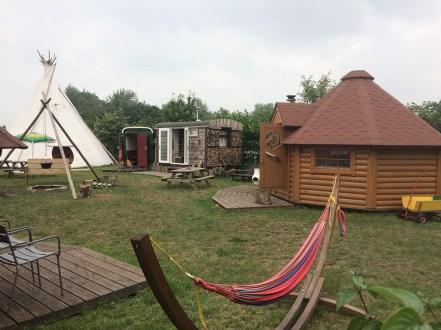 Origineel overnachten in een tipi tent6