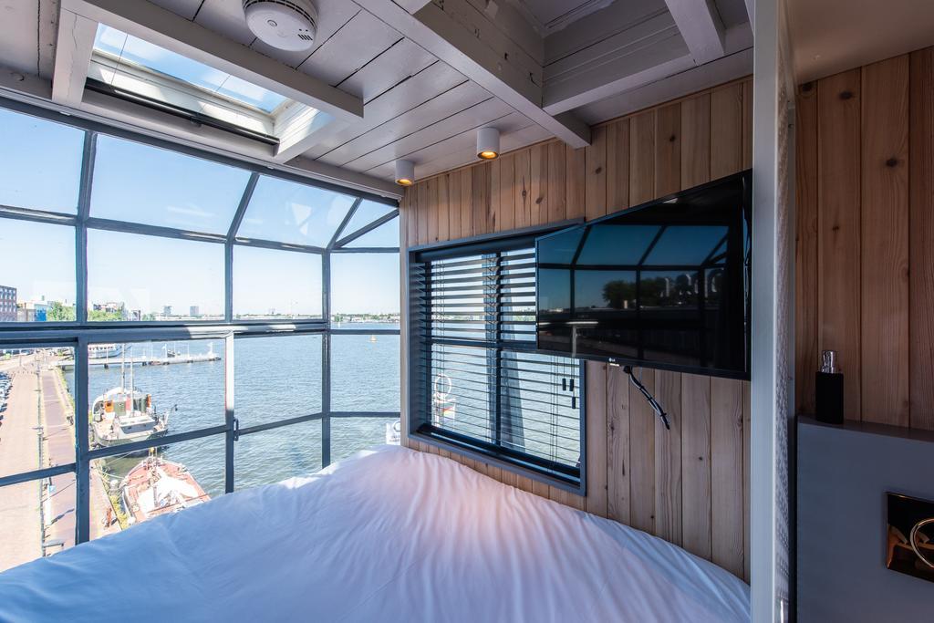 Bijzondere Overnachting Origineel Overnachten Slapen in het Yays Crane appartement in Amsterdam2