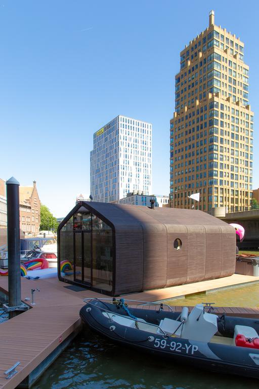 Bijzondere overnachting Origineel Overnachten Slapen op het water in Rotterdam Wikkelboat 2