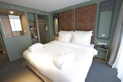 Slapen in voormalig tramremise Hotel De Hallen Amsterdam 2