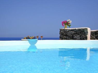 Vakantie windmolen villa Santorini Griekenland 12