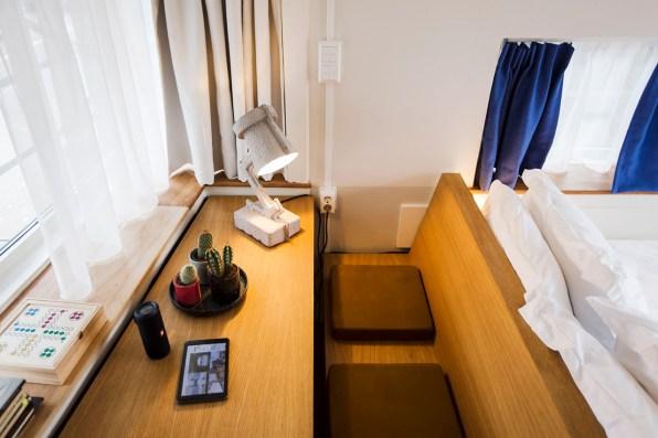 Slapen in brugwachtershuisje Amsterdam 26