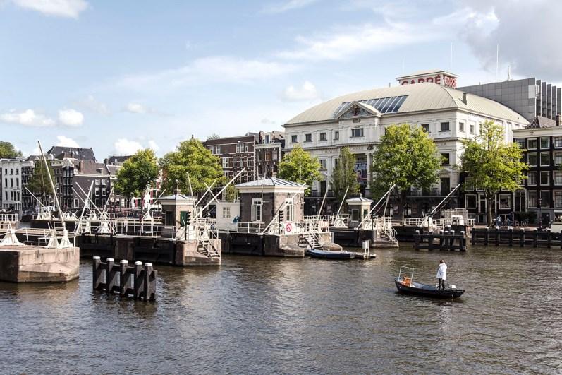 Slapen in brugwachtershuisje Amsterdam 9