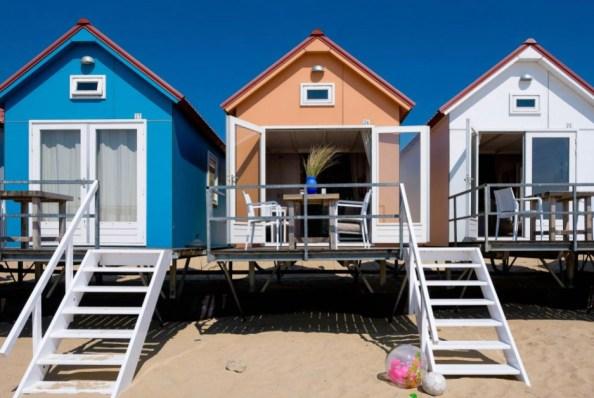 Slapen in een strandhuisje Vlissingen Zeeland Roompot 3