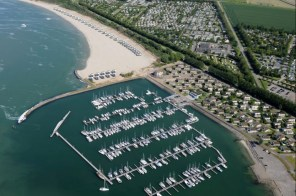 Slapen in een strandhuisje Zeeland Roompot Beach Resort Kamperland 1