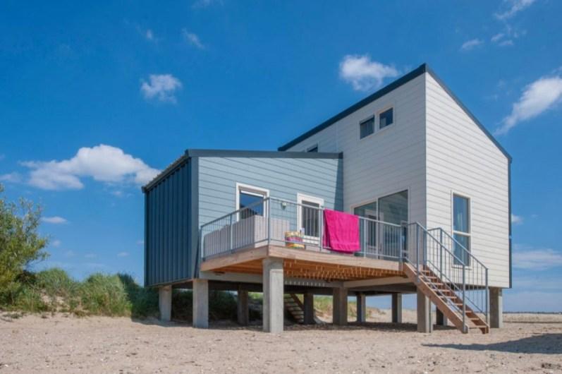 Slapen in een strandhuisje Zeeland Roompot Beach Resort Kamperland 10
