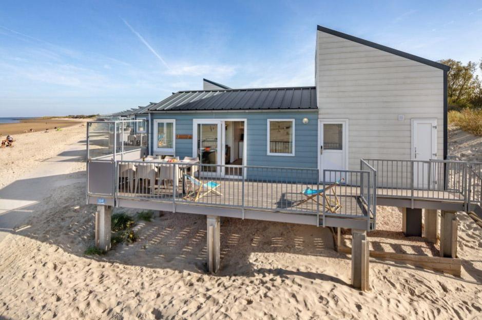 Slapen in een strandhuisje Zeeland Roompot Beach Resort Kamperland 9