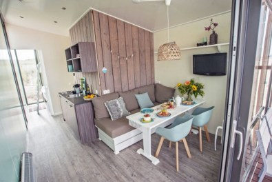 Slapen in Haags strandhuisje in Roompot Kijkduin 2