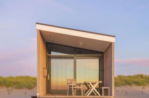 Slapen in Haags strandhuisje in Roompot Kijkduin 6