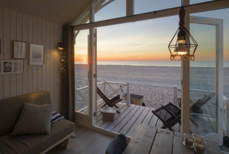 Slapen in Haags strandhuisje in Roompot Kijkduin 9