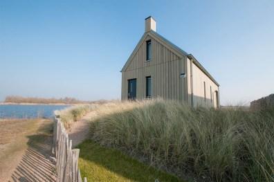 Slapen in Piet Boon watervilla Oesterdam in Tholen Zeeland 10