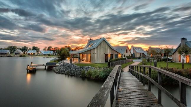 Slapen in Piet Boon watervilla Oesterdam in Tholen Zeeland 4