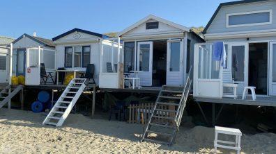 Slapen op het strand particuliere strandhuisjes in Zeeland - Vlissingen 8
