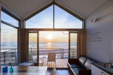 Bijzondere Overnachting Slapen op het strand in een strandhuisje strandhuisjes julianadorp-2