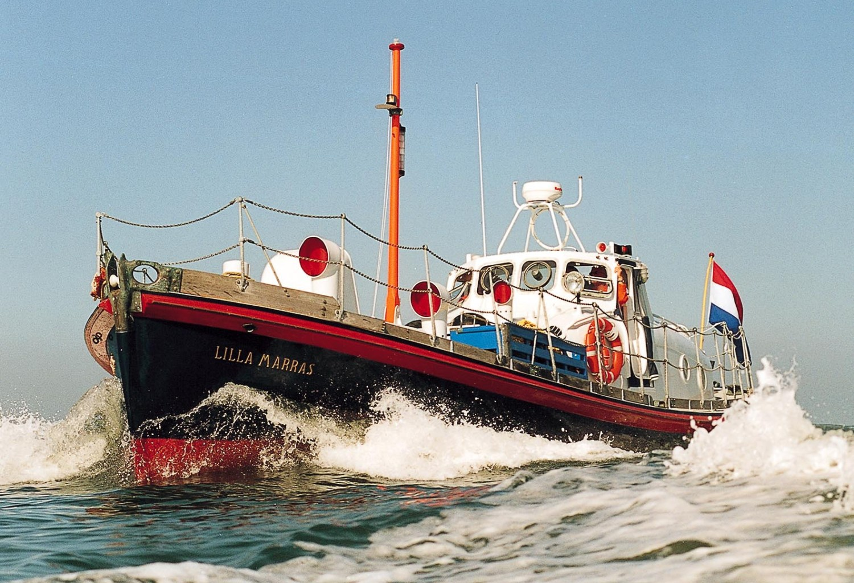 Slapen in reddingsboot Lilla Marras in Harlingen 20