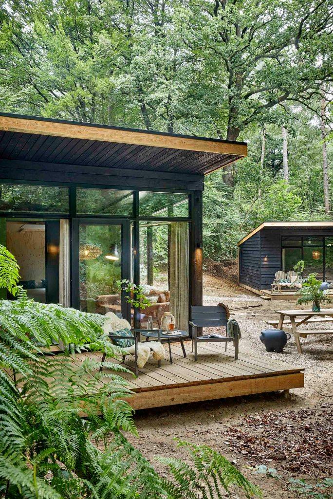 Forest Cabins van Buitenplaats Beekhuizen Slapen in het bos 5