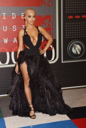 Rita Oraseen at the 2015 MTV Video Music Awards at Microsoft Theater in Los Angeles