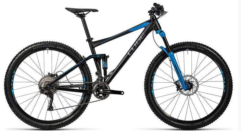 Bicicleta de montaña Cube Stereo 120 HPA Race 29