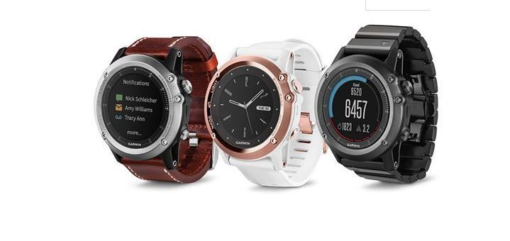 Reloj GPS Garmin Fenix 3 Zafiro
