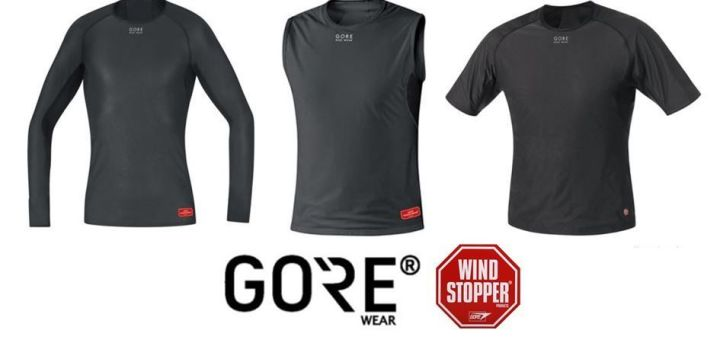 Camiseta interior Gore Wear Windstopper