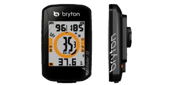 Ciclocomputador GPS Bryton Rider 15