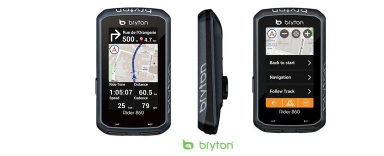 Ciclocomputador GPS Bryton Rider 860