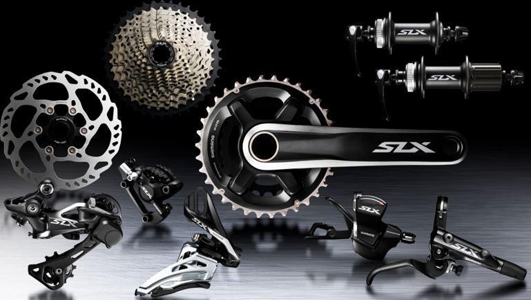Grupo Shimano SLX M7000.