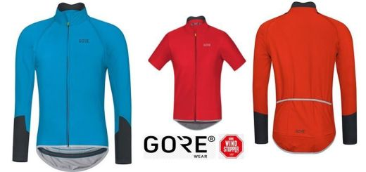 Maillot Gore Wear C5 Windstopper Zipp-Off