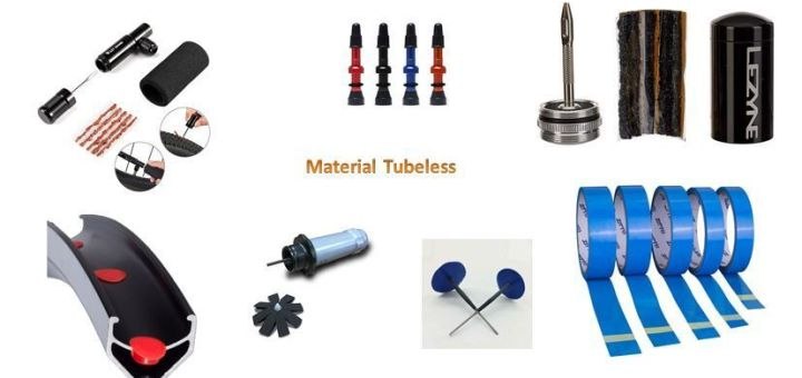 Material Tubeless