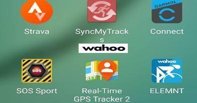 Apps GPS Wahoo Element Bolt 2