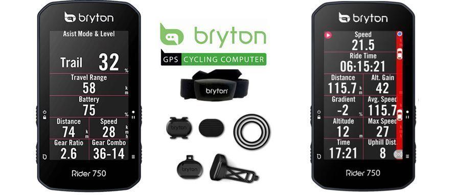 ciclocomputador GPS Bryton Rider 750