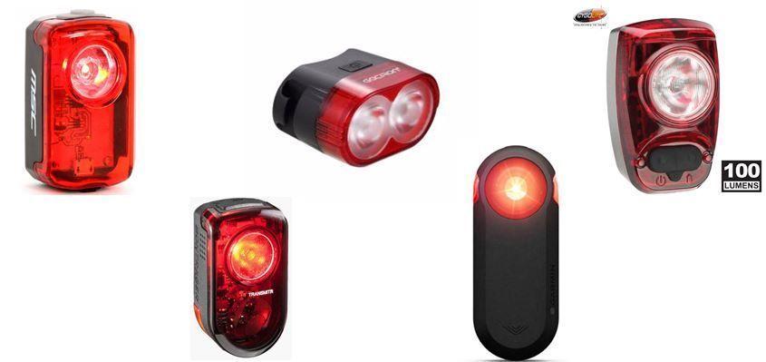 Luz Trasera para Bicicleta Jourbon 2 Unidades, para Bicicleta de monta/ña, luz roja ultraclara, Recargable por USB, para Mayor Visibilidad y protecci/ón