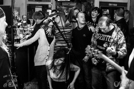 Wrecked at the Bike'N'Hound - Photography by Tobias Alexander / Grey Trilby