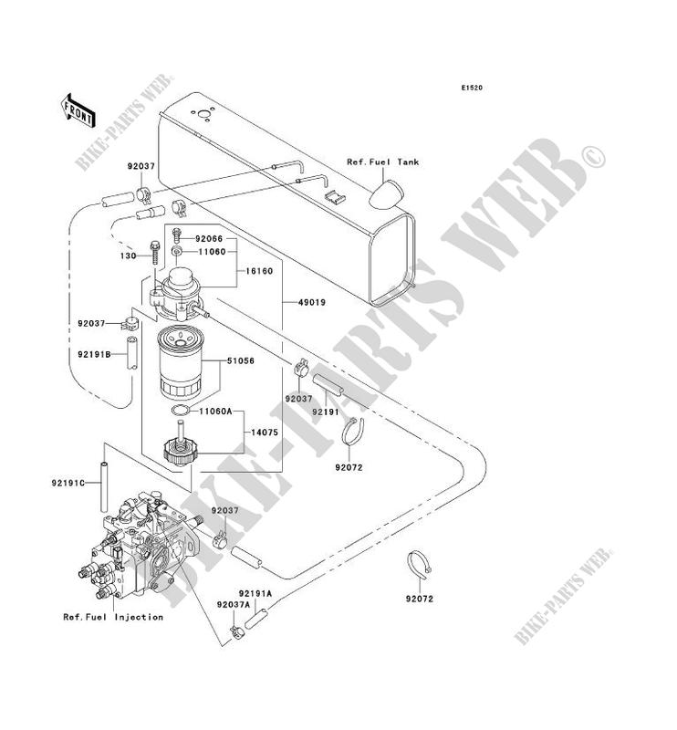 Kawasaki Mule 2510 Parts Diagram On Kawasaki Mule Parts Diagram