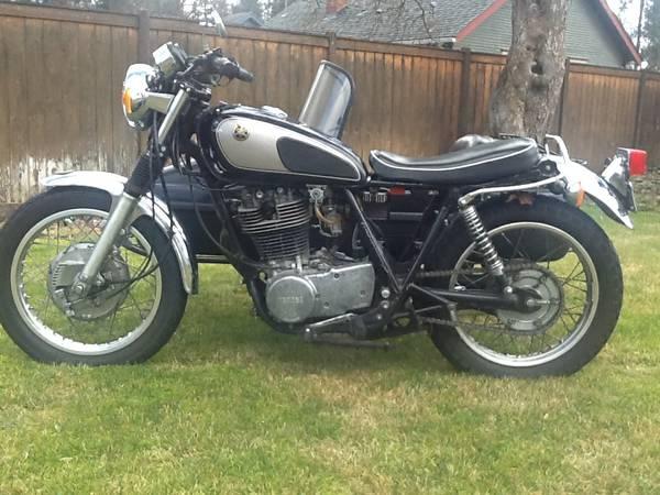 Yamaha Srmotorcycle For Sale