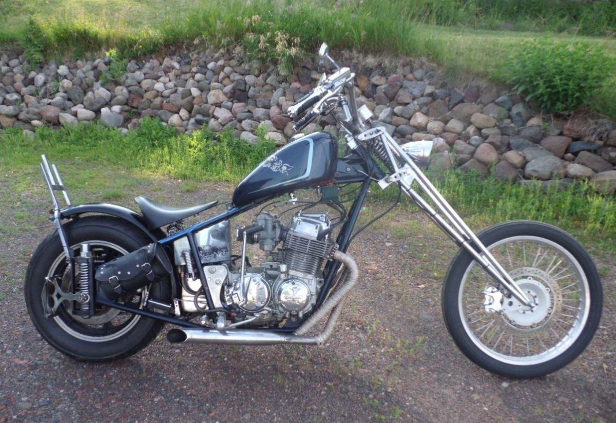 can i get an amen 1978 honda cb750 chopper bike urious. Black Bedroom Furniture Sets. Home Design Ideas