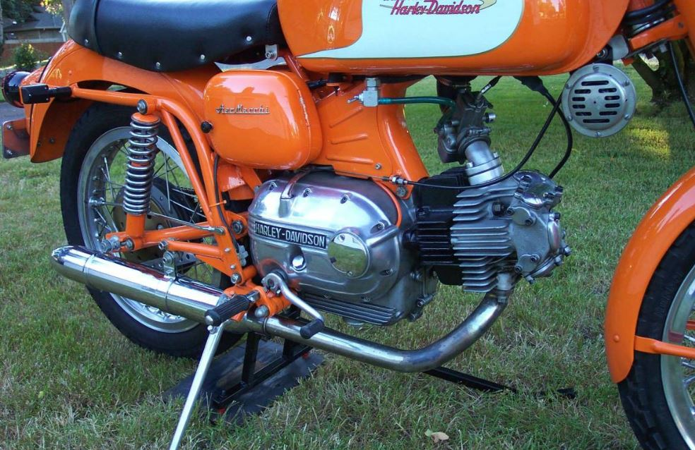 Green Wing Replica – 1972 Aermacchi Sprint 250 Ala Verde – Bike-urious