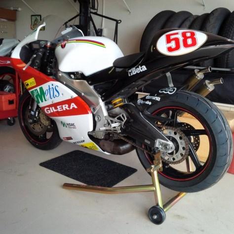Aprilia RS250 Cup - Rear Left