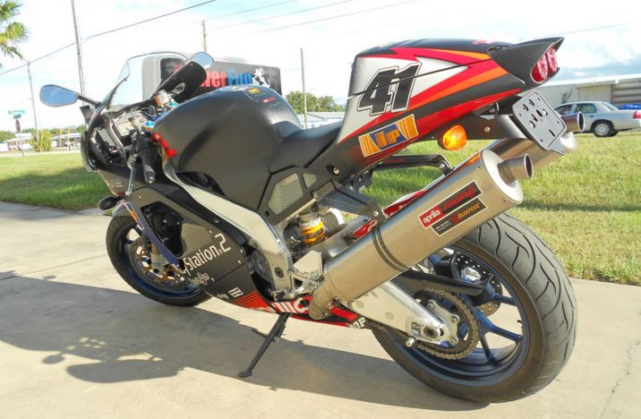 Aprilia RSV1000R Haga Replica - Left Side