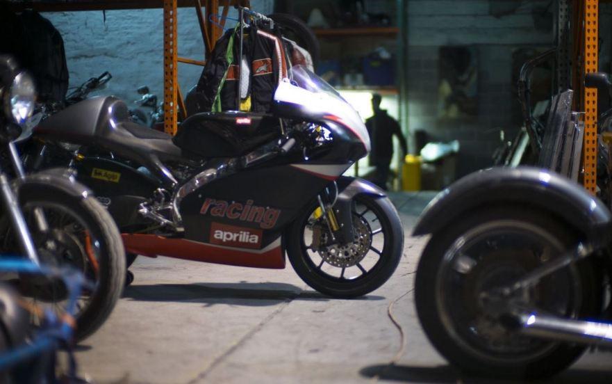 Aprilia RSW 250 - Right Side