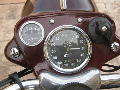 Ariel Red Hunter - Gauges