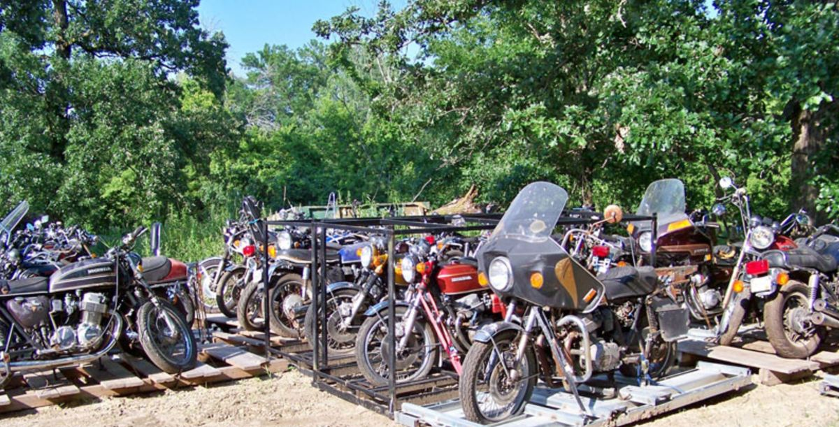 Auction Preview - 450 Vintage Motorcycles in Minnesota