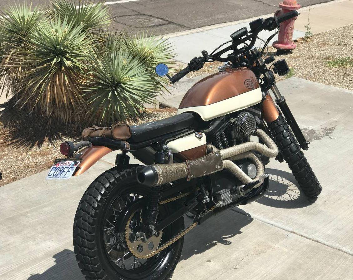 Bare Bones Rides Build – 1989 Harley-Davidson Sportster ...