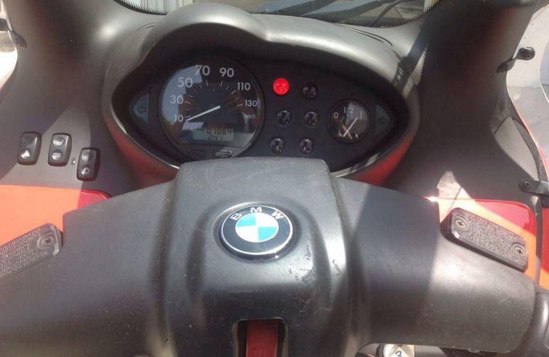 BMW C1 - Gauges