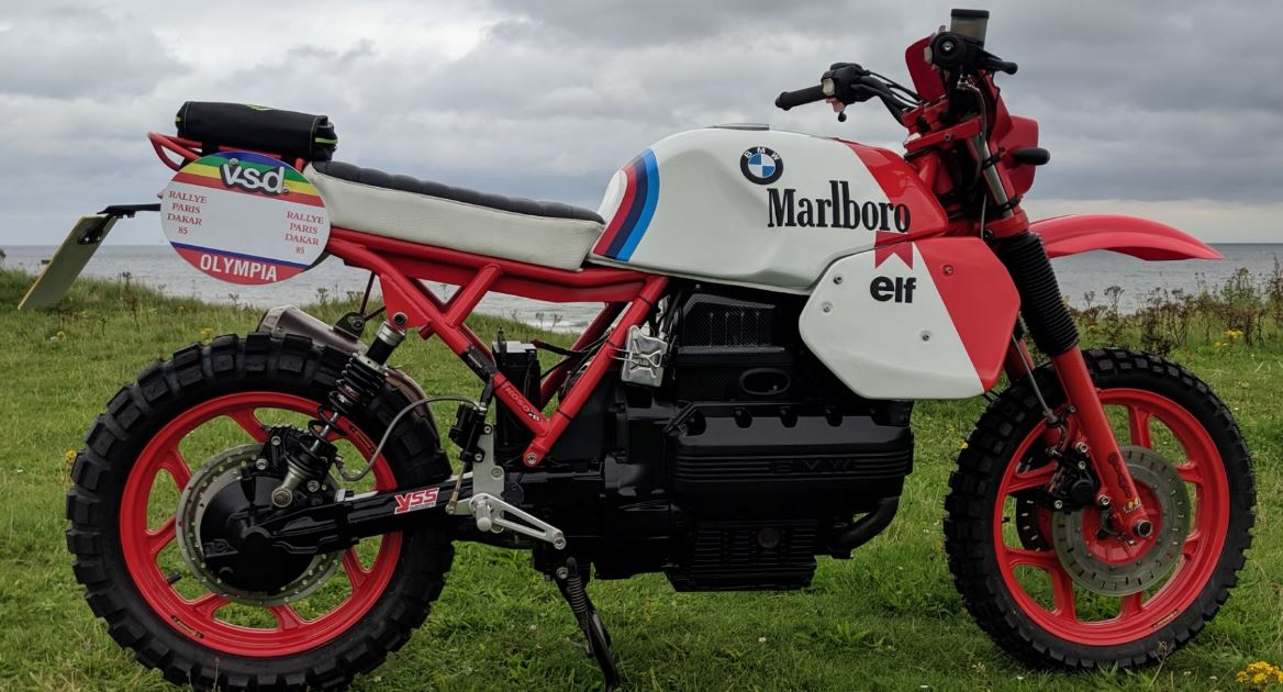 R80GS Tribute – 1983 BMW K100 Custom