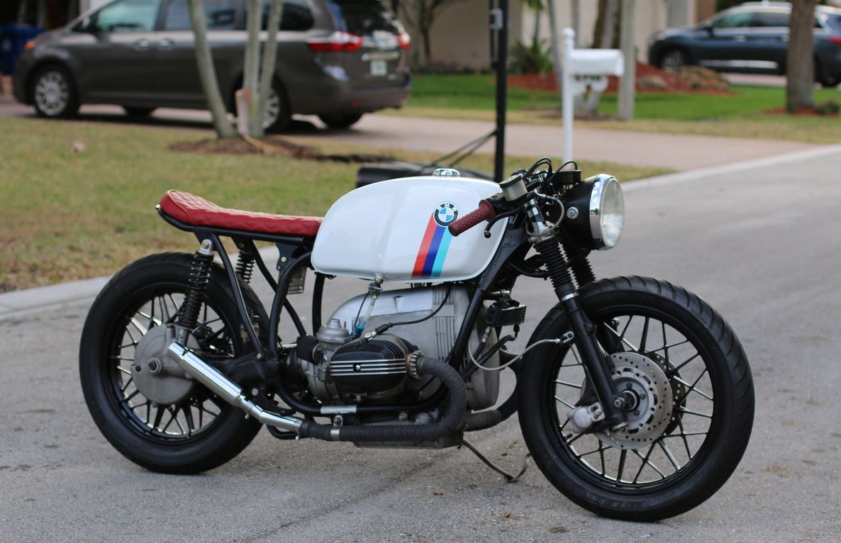 Motorsport Livery - 1980 BMW R100 Custom