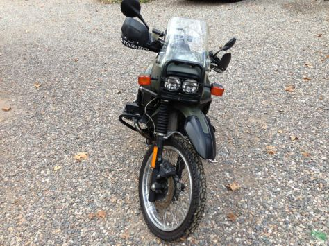 BMW R100GS-PD - Front