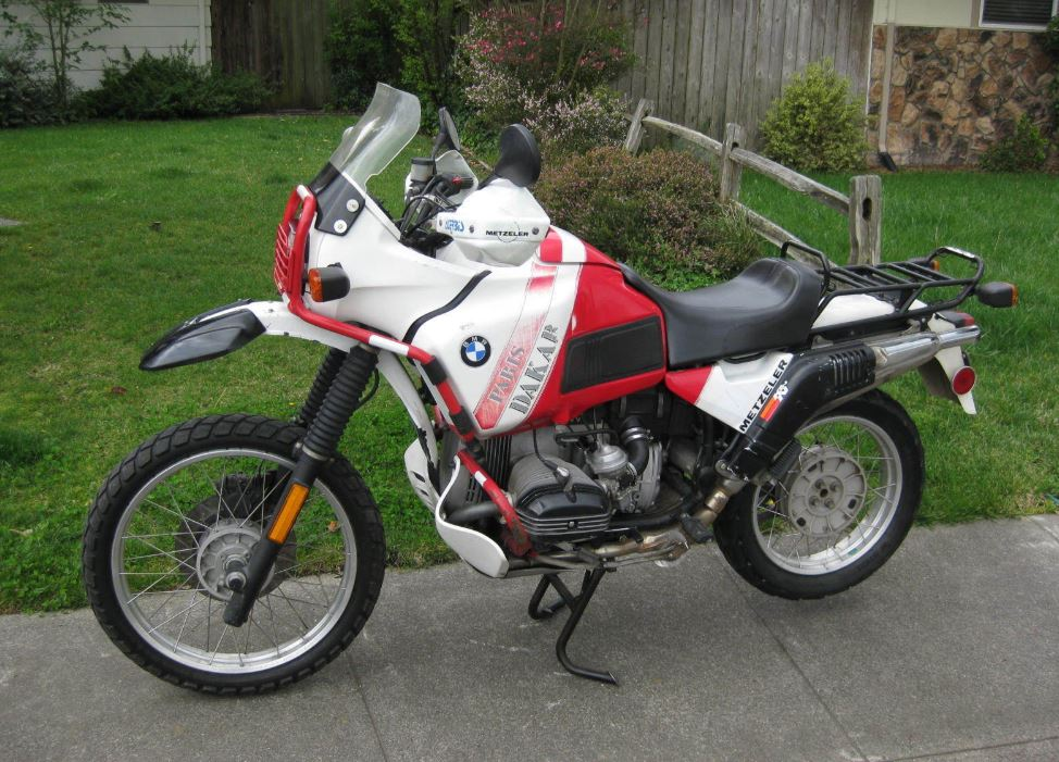 1990 BMW R100GS Paris-Dakar