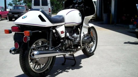 BMW R100RS Motorsport - Right Rear