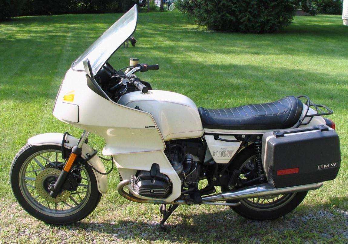 1 of 300 – 1983 BMW R100RT 60th Anniversary – Bike-urious